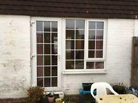 UPVC back door and window