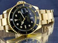 Rolexxx submariner black dial