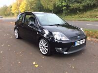 07 PLATE FORD FIESTA ST BLACK *2 OWNERS* *IMMACULATE CONDITION* *LONG MOT*