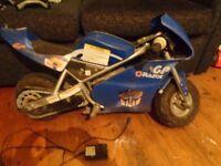 "GP razor ""pocket rocket"" kids electric bike"
