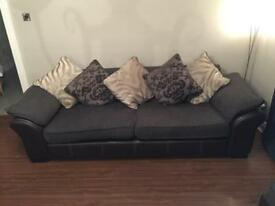 4 and 2 seater sofas, suite