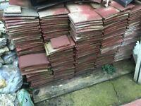 Reclaimed peg tiles. over 1000 CHEAP