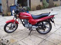 Wuyang WY - 125, 12 Months MOT, Good condition, *Free delivery, Learner legal