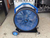 BLUE MAX 650 POWER FAN AIR MOVER / COOLING FAN / DRYER 240 volt