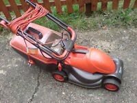 Flymo lawn mower with brand new motor assembly fitted