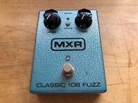 MXR Classic Fuzz Silicon pedal