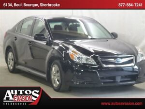 2010 Subaru Legacy 2.5 i AWD + SHIFT PADDLE AU VOLANT