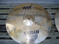 "18"" Sabian stage ride cymbal"