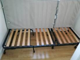 Ikea foldable single bed