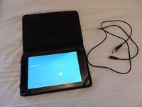 "ASUS Google Nexus 7 (first Generation) 16GB, Wifi, 7"" tablet with a Leather case and charger"