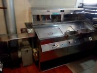 Ellidge and Fairley fish and chips fryer range