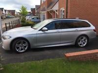 BMW 525d M Sport Touring Dec 2013 6 Months BMW warranty lots of extras