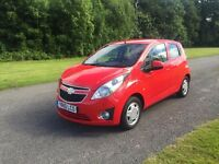 2010 Chevrolet Spark 1.2 LS Red / FSH !! Bargain !! / Very cheap first car !!