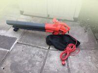 Sovereign electric garden leaf blower/vacuum