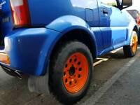 Jimny wheels and tyres