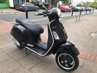 PIAGGIO VESPA SUPER GTS 300cc ie black 12 plate hpi clear no offer !!