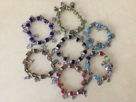 Brand New Beaded Bracelets, Available in Different Colours and Styles
