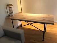 Ikea pine table/desk in great condition