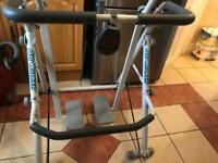 Airwalker fitness machine