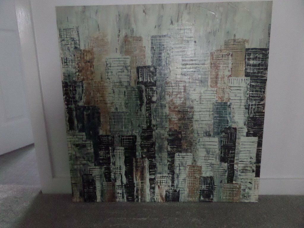 Ikea abstract art canvas for sale - excellent condition