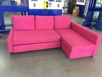 Pink Ikea Corner Sofa Bed