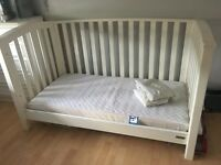 Junior bed and mattress mamas and papas ,fitted bed sheets ,bed guard