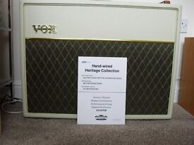 VOX AC30/15 50th ANIVERSARY AMPLIFIER HERITAGE COLLECTION.