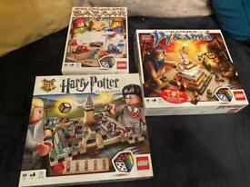3 Lego Board Games Harry Potter