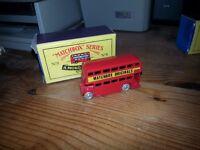 Moko Lesney Matchbox No. 5 Bus model