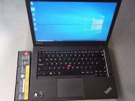 Lenovo T440 Ultrabook+Intel Core i5 4300U+500GB HDD+4GB RAM+Backlit Keyboard+ Charger+Good Condition