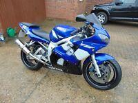 Yamaha YZF R6 2002 Sports Bike
