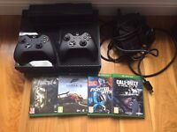 Xbox One 500GB + 4 Games + 2 Controllers + Kinect