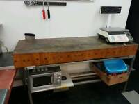 Butcher wooding tables