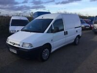 52 REG FIAT SCUDO EL DIESEL 1.9 ENGINE ONLY 83000 MILES FROM NEW IN VERY CLEAN CONDITION 3 SEATER