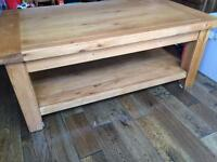 Solid wood Barker and Stonehouse Coffee Table