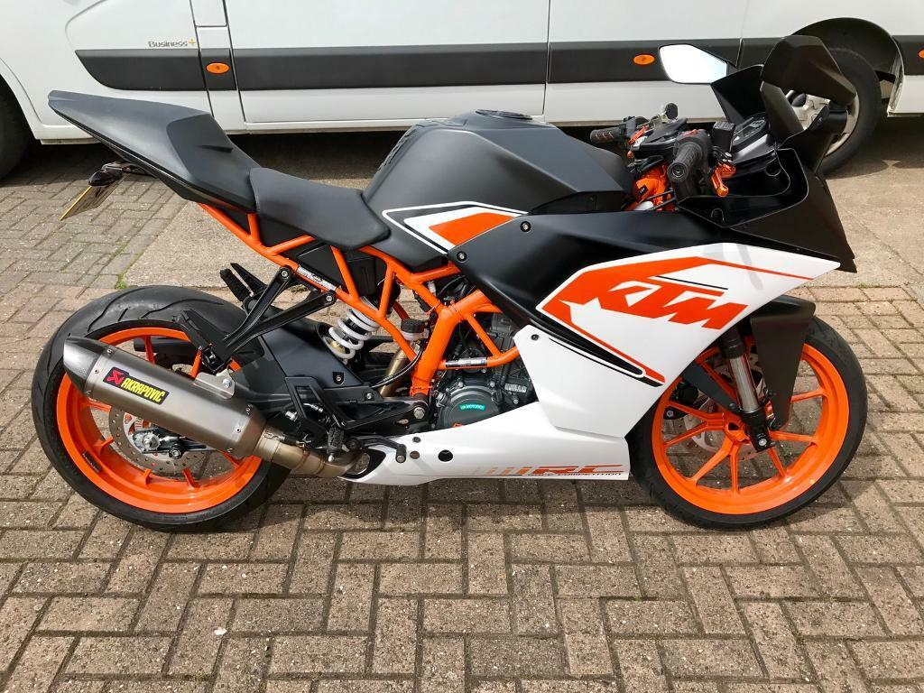 ktm rc 125 500miles in gateshead tyne and wear gumtree. Black Bedroom Furniture Sets. Home Design Ideas