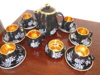Gold Lustre Tea Set