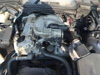 BMW E36 318i M43B19 1.9 PETROL COMPLETE ENGINE + ANCILLARIES, still runs