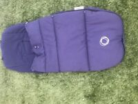 Bugaboo universal footmuff - Navy Blue great condition