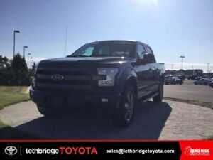 Certified 2016 Ford F-150 Lariat 4x4 SuperCrew - ECO BOOST!