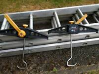 3 Section Ladder Extension set with Rhino Roof Clamps
