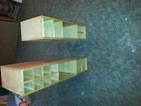 wine racks with draws x2