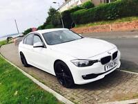 """*** STUNNING *** 2012/62 BMW 320D F30 20"""" GLOSS BLACK ALLOYS ***IMMACULATE INSIDE & OUT***"""