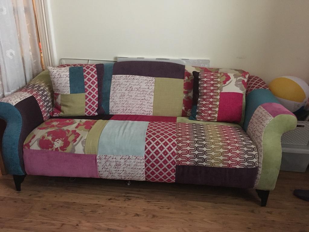 Wunderbar Sofa Patchwork Foto Von Dfs Shout And Chair