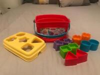 Fisher price my first shape sorter