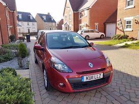 2011 Renault Clio Dynamique TomTom, 3 Door - £3000