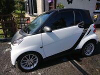 2009 SMART CAR CONVERTIBLE, FULL LEATHER,LOW MILAGE,FULL HISTORY,SPOTLESS CONDITION