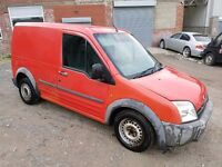 2006 FORD TRANSIT CONNECT 1.8 TDDI T200 LX SWB VAN RED