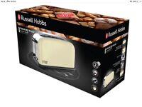 Russel Hobbs classic cream toaster