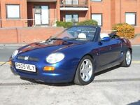 MG MGF 1.8 CONVERTIBLE + MOT MAY 2017 + CREAM LEATHER